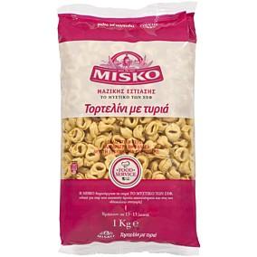 Πάστα ζυμαρικών MISKO τορτελίνι με τυριά (1kg)