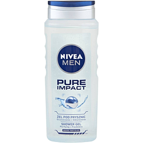 Αφρόλουτρο NIVEA Men Pure Impact (500ml)