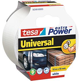 Ταινία TESA Extra Power Universal κήπου υφασμάτινη λευκή 10m x 55mm