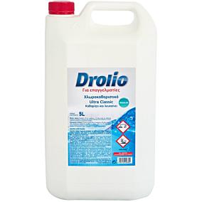 Χλωρολευκαντικό DROLIO Ultra clean (5lt)
