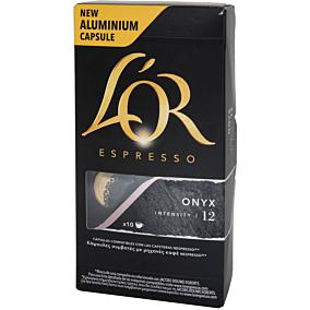 Καφές L'OR espresso onyx σε κάψουλες (10x5,2g)