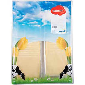 Τυρί VEPO edam 40% λιπαρά σε φέτες (1kg)