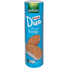 Μπισκότα GULLÓN mega duo βανίλια (500g)