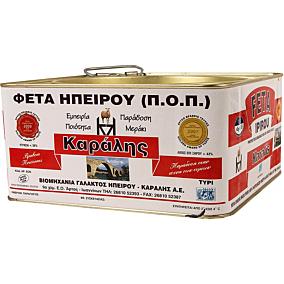 Τυρί ΚΑΡΑΛΗΣ φέτα (3,5kg)