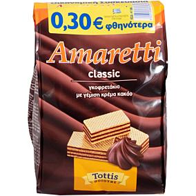 Γκοφρετάκια AMARETTI -0,30€ (2x135g)