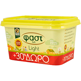 Μαργαρίνη ΜΙΝΕΡΒΑ φαστ soft light (250g+30%ΔΩΡΕΑΝ ΠΡΟΪΟΝ)