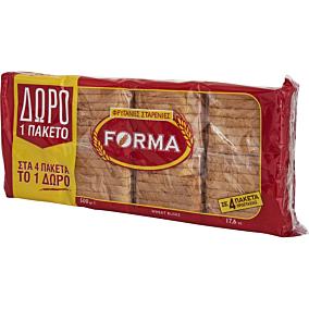 Φρυγανιές FORMA σίτου (4x125g)