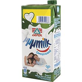 Γάλα ΔΕΛΤΑ My μμμmilk υψηλής παστερίωσης ελαφρύ 1,5% λιπαρά -0,15€ (1lt)