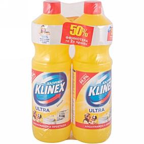Χλωρίνη KLINEX λεμόνι (1250ml)