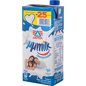 Γάλα ΔΕΛΤΑ My μμμmilk υψηλής παστερίωσης πλήρες 3,5% λιπαρά -0,25€ (1lt)