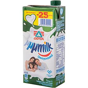 Γάλα ΔΕΛΤΑ My μμμmilk υψηλής παστερίωσης ελαφρύ 1,5% λιπαρά -0,25€ (1lt)