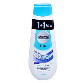 Αφρόλουτρο NOXZEMA bath care pilot 1+1ΔΩΡΟ (2x750ml)