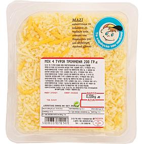 Τυρί VIKO mix τριμμένο (200g)