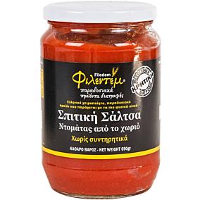 Σάλτσα ΦΙΛΕΝΤΕΜ ντομάτας σπιτική (650g)