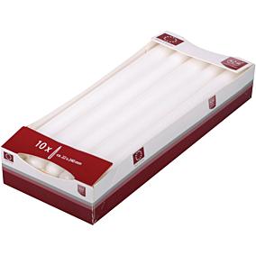 Κερί KCB βενέτσια λευκά 22x240mm (10τεμ.)