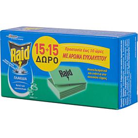 Εντομοαπωθητικό RAID ταμπλέτες (30τεμ.)