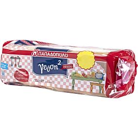 Ψωμί ΠΑΠΑΔΟΠΟΥΛΟΥ για τοστ γεύση2 σίτου (700g)