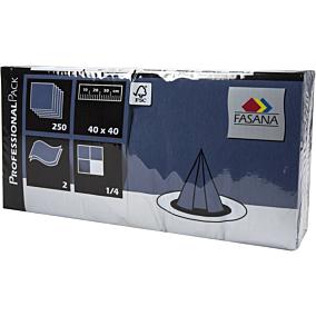 Χαρτοπετσέτες FASANA μπλε 40x40cm (250τεμ.)