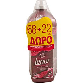 Μαλακτικό ρούχων LENOR ruby jasmine parfumelle συμπυκνωμένο (68μεζ.)