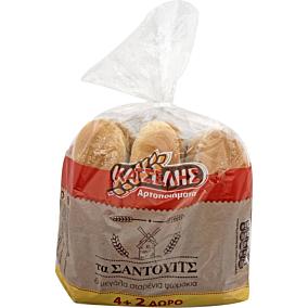 Ψωμί ΚΑΤΣΕΛΗΣ για σάντουιτς (6τεμ.)