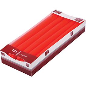 Κερί KCB βενέτσια κόκκινα 22x240mm (10τεμ.)