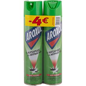 Κατσαριδοκτόνο AROXOL σε σπρέι -4€ (2x300ml)