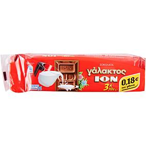 Σοκολάτα ΙΟΝ γάλακτος (3x70g)
