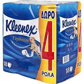 Χαρτί υγείας KLEENEX capitonne (18τεμ.)