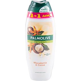 Αφρόλουτρο PALMOLIVE naturals macadamia and cocoa (1+1 δώρο) (2x650ml)