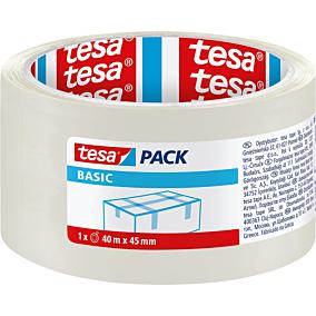 Ταινία TESA Basic συσκευασίας διαφανής 40m x 45mm
