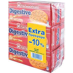 Μπισκότα ΠΑΠΑΔΟΠΟΥΛΟΥ digestive (3x250g)