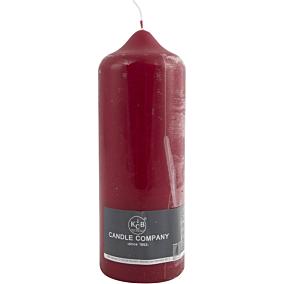 Κερί κορμός KCB μπορντό 78x220mm