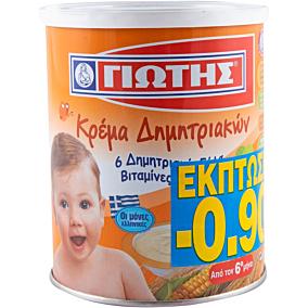 Παιδική κρέμα ΓΙΩΤΗΣ δημητριακών -0,90€ (300g)