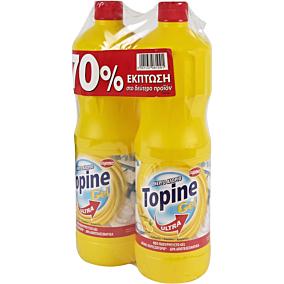 Χλώριο TOPINE λεμόνι, gel (2x1250ml)