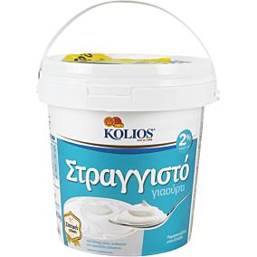 Γιαούρτι KOLIOS στραγγιστό 2% λιπαρά  -0,85€ (850g)