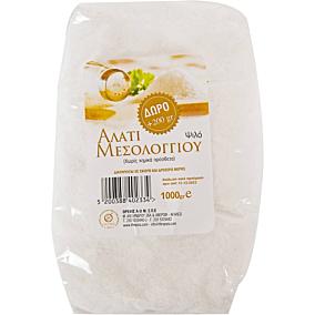 Αλάτι ψιλό ΘΡΕΨΙΣ Μεσολογγίου (1kg)