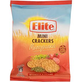 Κράκερ ELITE mini μεσογειακά με ντομάτα και ρίγανη (50g)