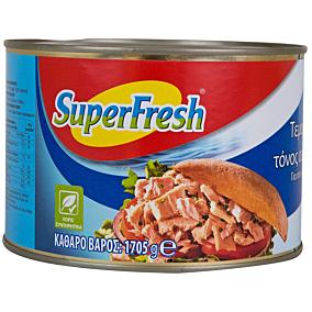 Κονσέρβα SUPER FRESH τόνος τεμαχισμένος σε ηλιέλαιο (1,705kg)