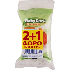 Μωρομάντηλα BABYCARE Mini με εκχύλισμα χαμομηλιού (3x12τεμ.)