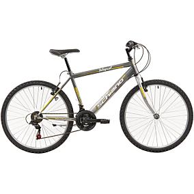 """Ποδήλατο MTB SHIANO INTEGRAL 26"""" 18 ταχύτητες ανδρικό ανθρακί"""