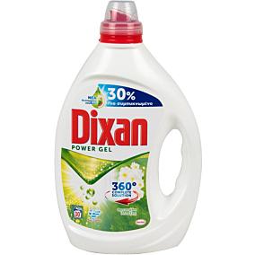 Απορρυπαντικό DIXAN POWER GEL φρεσκάδα άνοιξης πλυντηρίου ρούχων, υγρό (30μεζ.)