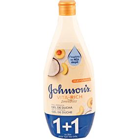 Αφρόλουτρο JOHNSON'S Yoghurt & Coconut 1+1ΔΩΡΟ (2x750ml)