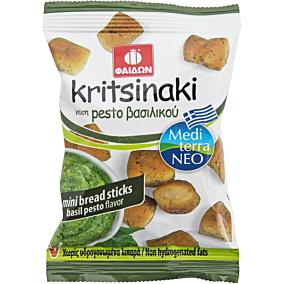 Κριτσινάκι ΦΑΙΔΩΝ mini bread sticks με γεύση pesto βασιλικού (40g)
