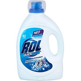 Απορρυπαντικό ROL υγρό quick wash (42μεζ.)