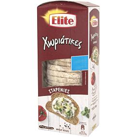 Φρυγανιές ELITE χωριάτικες σταρένιες -0,3€ (240g)