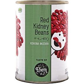 Κονσέρβα ΕΔΕΜ φασόλια κόκκινα (400g)