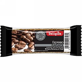 Μπάρα δημητριακών DELIGIOS Flap Jack espresso (80g)
