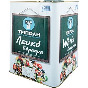 Λευκό τυρί ΤΡΙΠΟΛΗ αγελαδινό (~15kg)