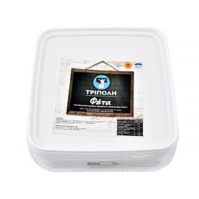 Τυρί ΤΡΙΠΟΛΗ φέτα (4kg)