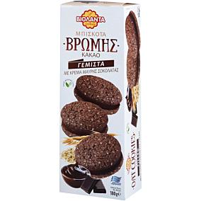 Μπισκότα ΒΙΟΛΑΝΤΑ βρώμης κακάο γεμιστά με σοκολάτα (180g)
